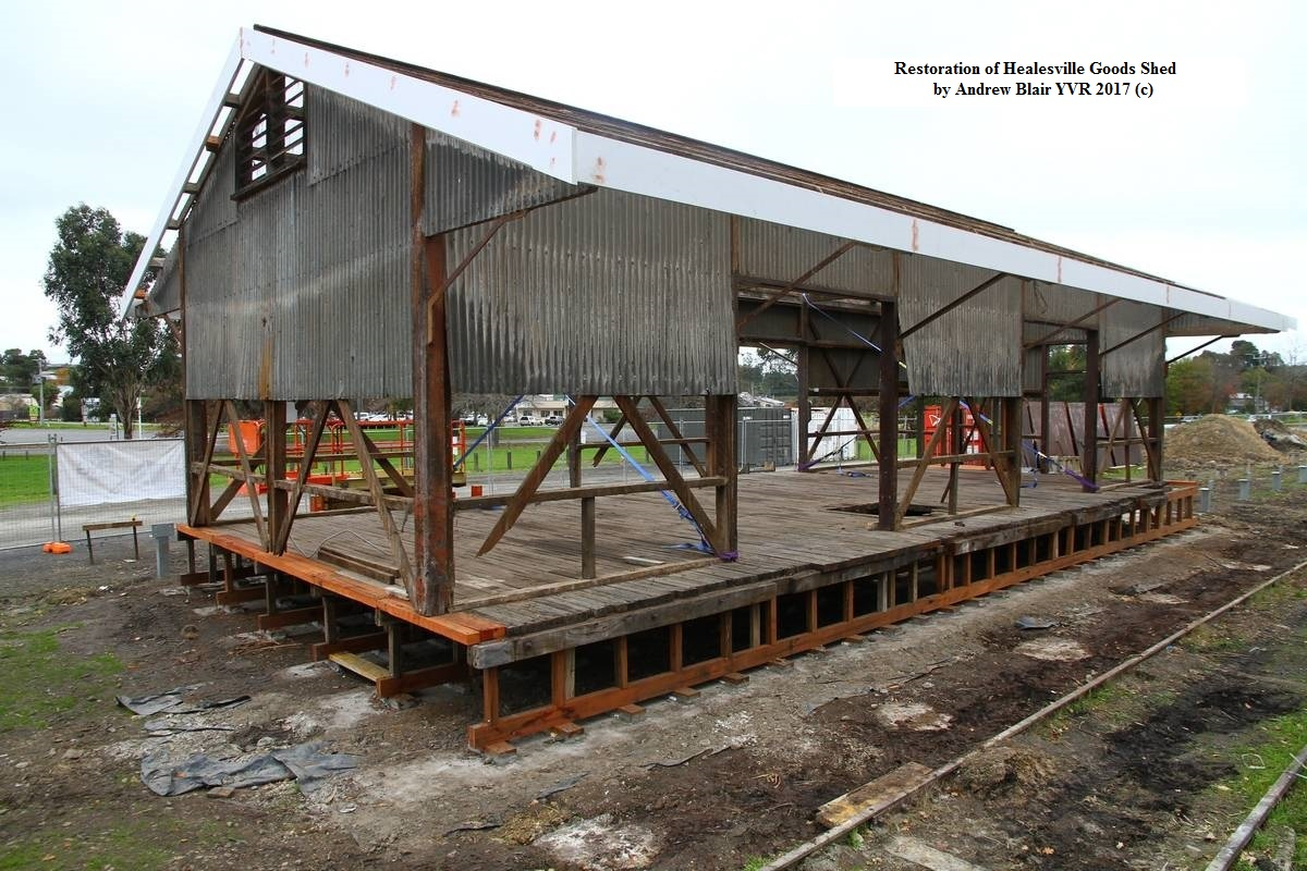 Refurbishment of Healesville Goods Shed
